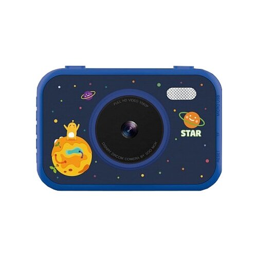 Фото - Фотоаппарат Children's Fun Camera Let time stop S5 синий фотоаппарат children s fun camera микки с wi fi красный