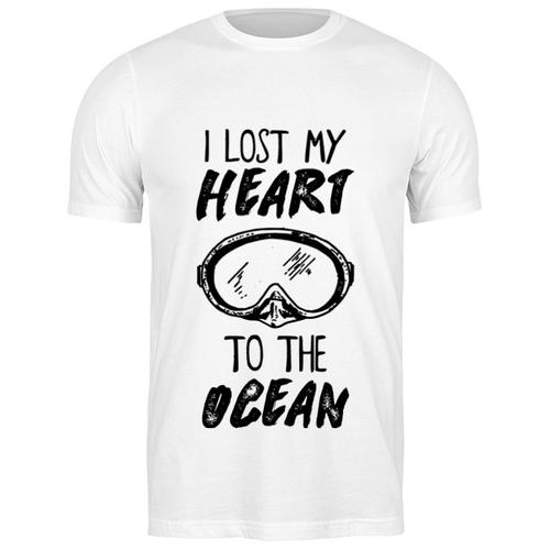 printio футболка классическая i lost my heart to the ocean Футболка классическая I lost my heart to the ocean #2003295 (цвет: БЕЛЫЙ, пол: МУЖ, качество: ЭКОНОМ, размер: 3XL)