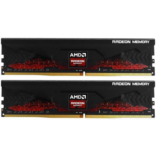 Оперативная память AMD Radeon R9 Gaming Series 32GB (16GBx2) DDR4 3600MHz DIMM 288-pin CL18 R9S432G3606U2K