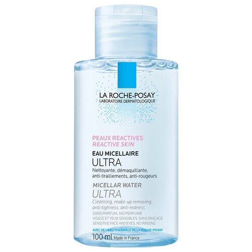 Фото - La Roche-Posay мицеллярная вода для чувствительной и склонной к аллергии кожи лица и глаз Ultra Reactive, 100 мл la roche posay мицеллярная вода для чувствительной и склонной к аллергии кожи лица и глаз ultra reactive 200 мл