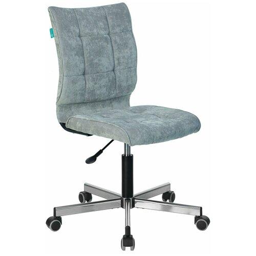 Компьютерное кресло Бюрократ CH-330M офисное, обивка: текстиль, цвет: серый недорого