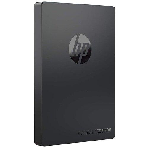 Фото - Внешний SSD HP P700 256GB (5MS28AA) 256 GB, черный внешний ssd hp p500 500gb 7pd54aa 500 gb синий