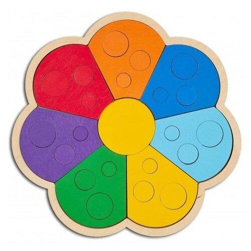 Raduga Kids Мозаика-сортер Цветик-семицветик (RK1013)