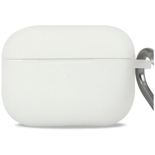 Чехол для наушников Apple AirPods Pro с карабином / Чехол на кейс Эпл ЭирПодс Про с поддержкой беспроводной зарядки / Силиконовый чехол для беспроводных блютуз наушников (Nightglow)