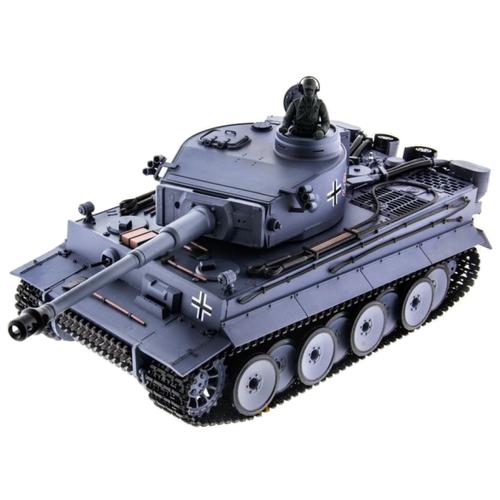 Танк Heng Long Tiger I (3818-1) 1:16 53 см серый/черный
