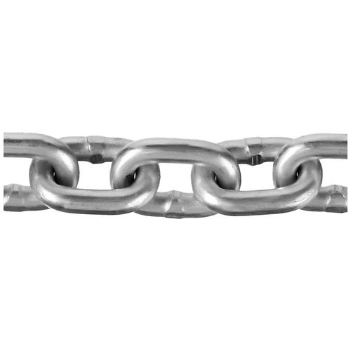 Фото - Цепь короткозвенная, DIN 766, оцинкованная сталь, d=6мм, L=30м, ЗУБР Профессионал 4-304050-06 веревка 6мм 30м пп