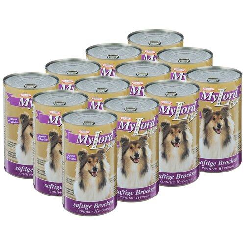 Фото - Влажный корм для собак Dr. Alder`s My Lord Classic, беззерновой, кролик 12 шт. х 1.23 кг влажный корм для собак dr alder s ягненок 12 шт х 750 г