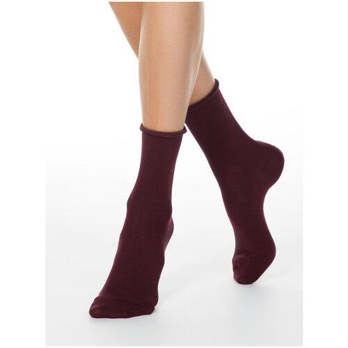 Носки Conte Elegant Comfort 19С-101СП, размер 23, темно-бордовый