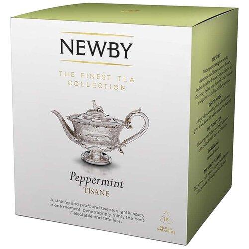 Фото - Чай травяной Newby Peppermint в пирамидках, 15 шт. чай травяной леторос душевный разговор в пирамидках 20 шт