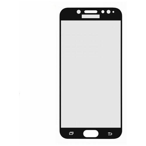 3D полноэкранное ультратонкое износоустойчивое сколостойкое олеофобное защитное стекло для Samsung Galaxy J7 (2017) черный