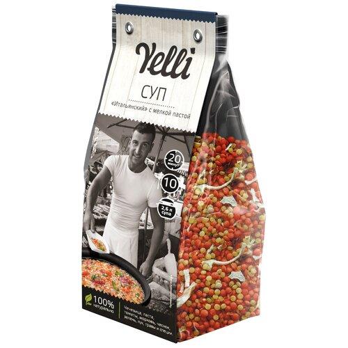 Yelli Суп Итальянский с мелкой пастой 250 г суп yelli из фасоли азиатский 250 г