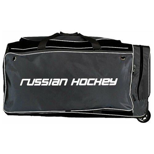 Сумка хоккейная BITEX 24-975/1 баул на колесах черно-серый полиэстер red fox баул на колесах roller duffel 100 4400 янтарь ss17