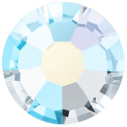 Купить Стразы клеевые PRECIOSA Crystal AB, 4, 7 мм, стекло, 144 шт, перламутр (438-11-615 i), Фурнитура для украшений