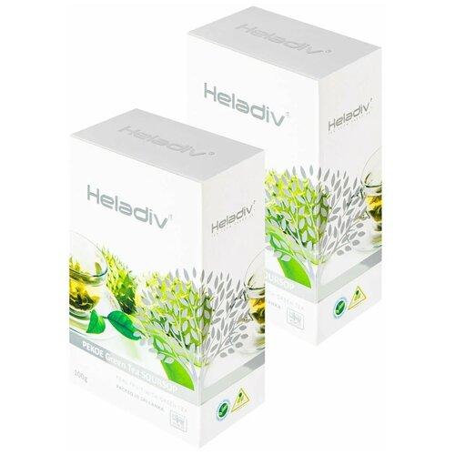 чай зеленый heladiv pekoe green tea soursop 250 г 1 уп Чай зеленый Heladiv PEKOE Green Tea Soursop, 100 г, 2 уп.