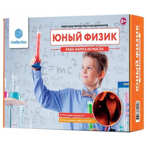 Купить Набор Intellectico Юный физик. Лава-лампа из масла (204), Наборы для исследований