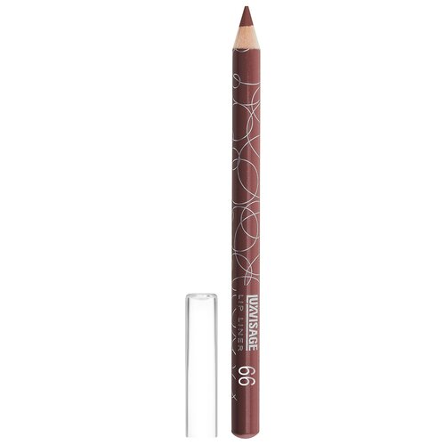 Купить LUXVISAGE карандаш для губ 66 лилово-коричневый