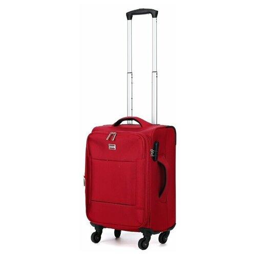 чемодан 55 см samsonite чемодан 55 см popsoda 40x55x20 см Чемодан REDMOND красный размер, Ручная кладь (до 55 см), Артикул SR06L18RD