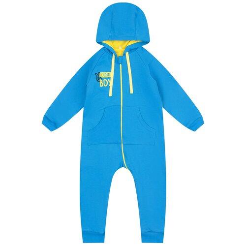 Фото - Комбинезон Leader Kids, размер 68, голубой комплект одежды leader kids размер 68 голубой