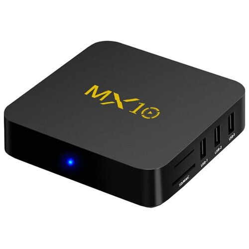 Фото - ТВ-приставка MXQ MX-10 4Gb/32Gb, черный медиаплеер mxq x96 mini 1gb 8gb