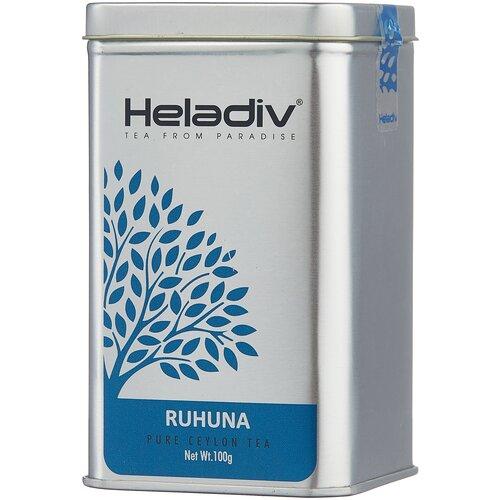 Фото - Чай черный Heladiv Ruhuna, 100 г чай черный heladiv hd rasberry 100 gr round p t