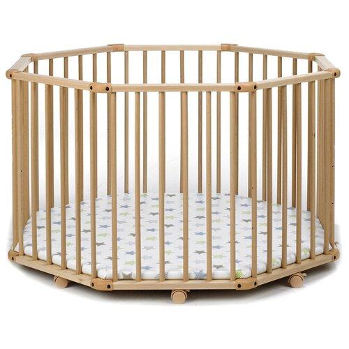 Купить Манеж-кровать Geuther Octo-Parc Plus натуральный 32, Манежи