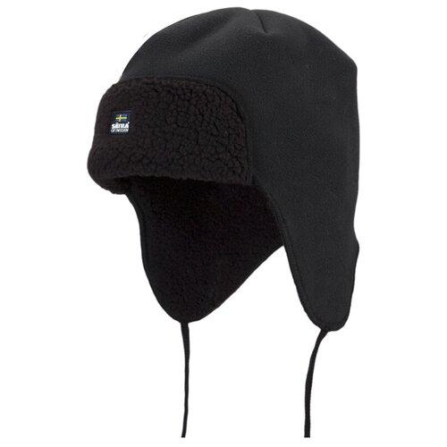 Шапка-ушанка Satila размер 56, черный