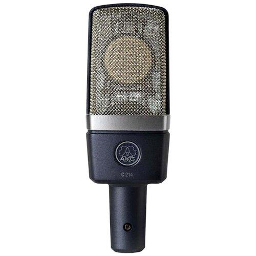 Микрофон AKG C214, matte grayish blue