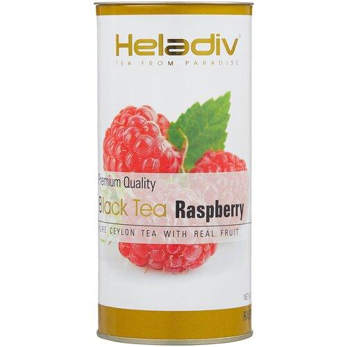 чай черный heladiv premium quality black tea lemon 100 г Чай черный Heladiv Premium Quality Black Tea Raspberry, 100 г, 1 уп.