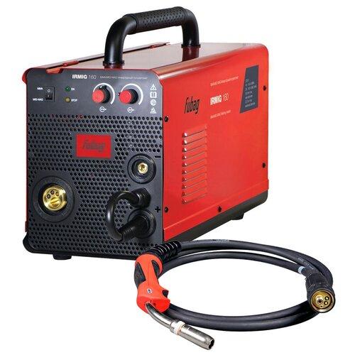 Сварочный аппарат инверторного типа Fubag IRMIG 160 (31431) + горелка 38440 MIG/MAG, MMA
