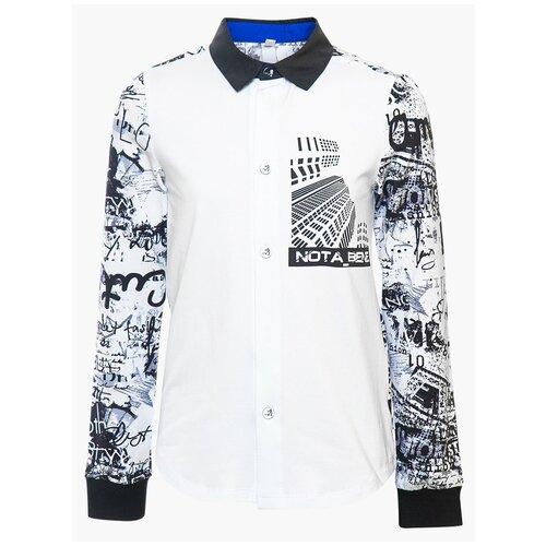 Рубашка Nota Bene размер 158, мультиколор