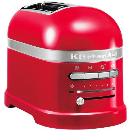 Фото - Тостер KitchenAid 5KMT2204EER, красный тостер kitchenaid 5kmt2204efp морозный жемчуг