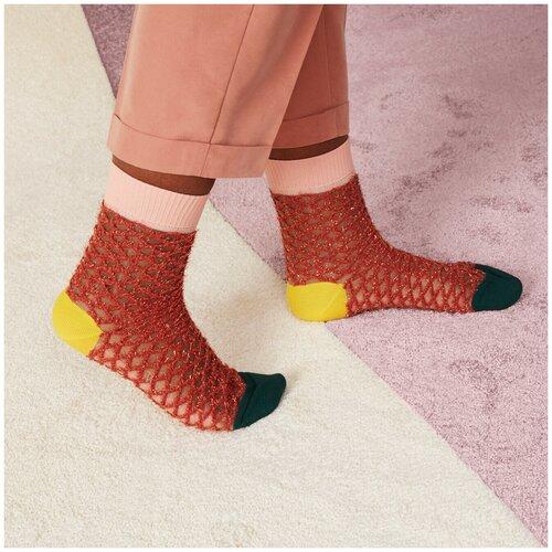 Носки для девушек Hysteria Cesca Crew - Black/Pink/Red/Yellow 39-41