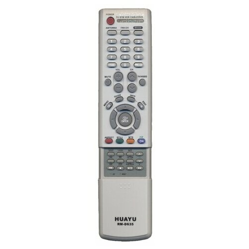 Фото - Пульт ДУ Huayu RM-D635 для телевизоров Samsung, серый пульт huayu rm 016fc универсальный для телевизоров samsung