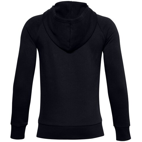 Толстовка Under Armour Rival Cotton Full Zip Hoodie Черный YXS 1357613-001 футболка under armour размер yxs black 001