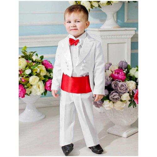 комплект одежды playtoday размер 92 красный белый темно синий Комплект одежды Liola размер 92, белый/красный
