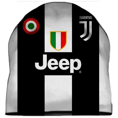 Шапка мужская футбол, ЧМ 2018, форма Роналдо, Ювентус (Ronaldo, Juventus)