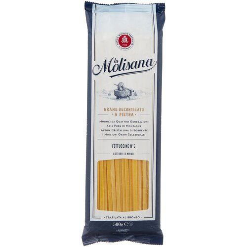 Фото - La Molisana Лапша Fettuccine № 5, 500 г la molisana spa макароны rigatoni 31 500 г