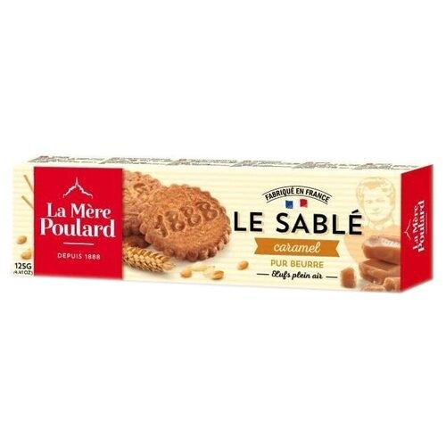 Печенье La Mere Poulard LE SABLE Caramel, 125 г