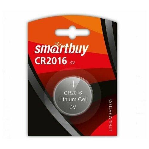 Фото - Батарейка Smartbuy CR2016 литиевая 5 шт батарейка cr2016 литиевая varta cr2016 3v 1 шт