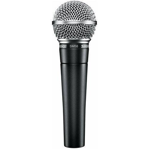Микрофон Shure SM58-LCE, темно-серый