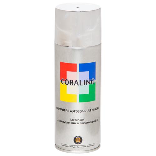 Краска Eastbrand Coralino металлик, яркий хром, 520 мл