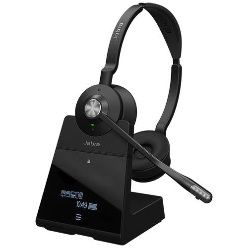 DECT/Bluetooth-гарнитура Jabra Engage 75 Stereo черный