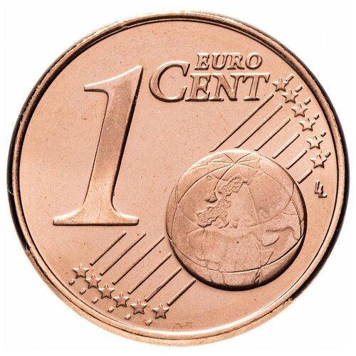 Монета Банк Финляндии Кипр 1 евроцент 2008 года