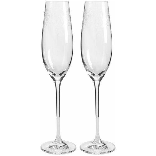Набор бокалов для шампанского RONA (2 шт)