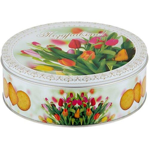 Печенье Monte Christo Тюльпаны 400 г