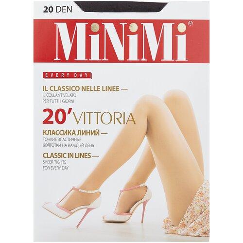 Фото - Колготки MiNiMi Vittoria, 20 den, размер 1/2-S, fumo (серый) колготки minimi vittoria 20 den размер 4 l fumo серый