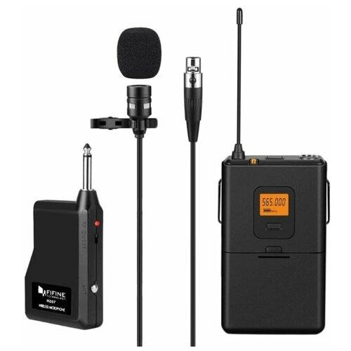 Беспроводной петличный микрофон Fifine K037 с трансмиттером