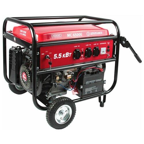 Бензиновый генератор MAXCUT MC 6500E (5000 Вт)
