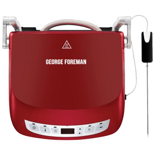 george foreman 25040 56 Гриль George Foreman 24001-56, красный