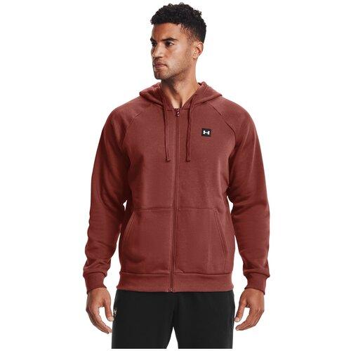 Толстовка Under Armour Rival Fleece Full Zip Hoodie Красный XS 1357111-688
